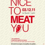 Soirée Nice to Meat You au Sucre