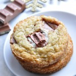 Cookies très moelleux aux barres kinder
