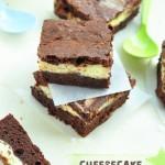 Decadent Cheesecake brownie