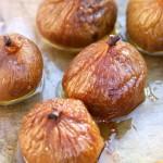 Recettes apéritif de Noël #2: Figues pochées au Monbazillac, cœur de foie gras