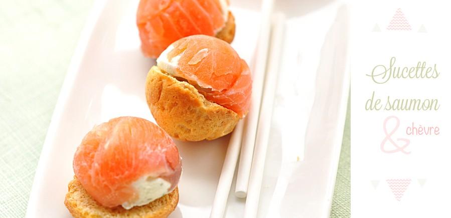 cover billes de saumon fumé et chevre frais