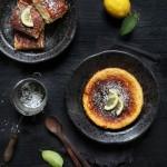 Fiadone au citron Corse & au brocciu