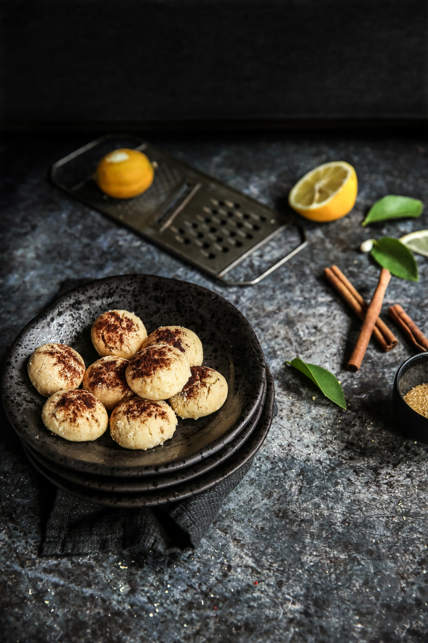 MANTECADOS CANNELLE citron de maman