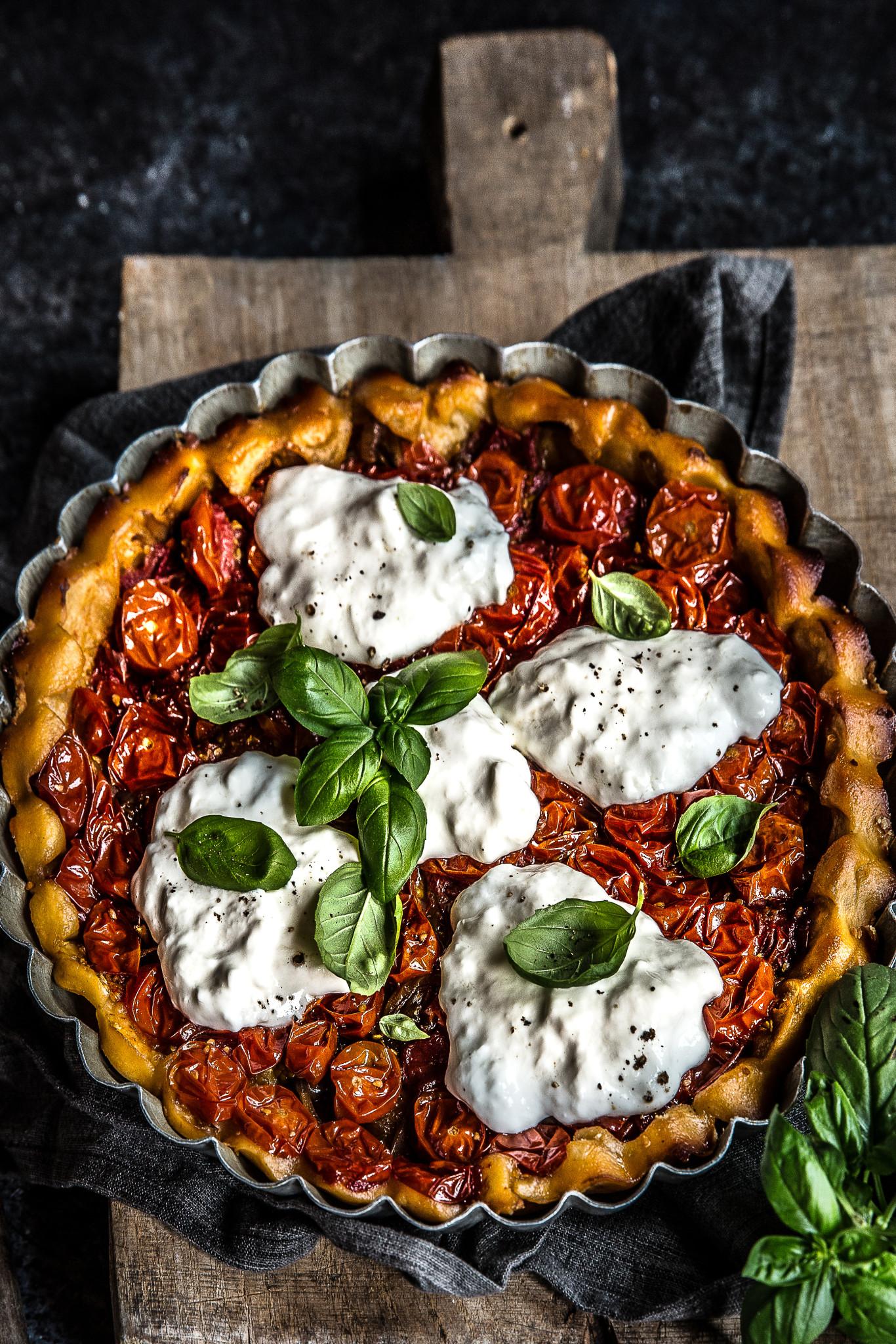tarte tomates cerises stratiatella crop (1 sur 1)