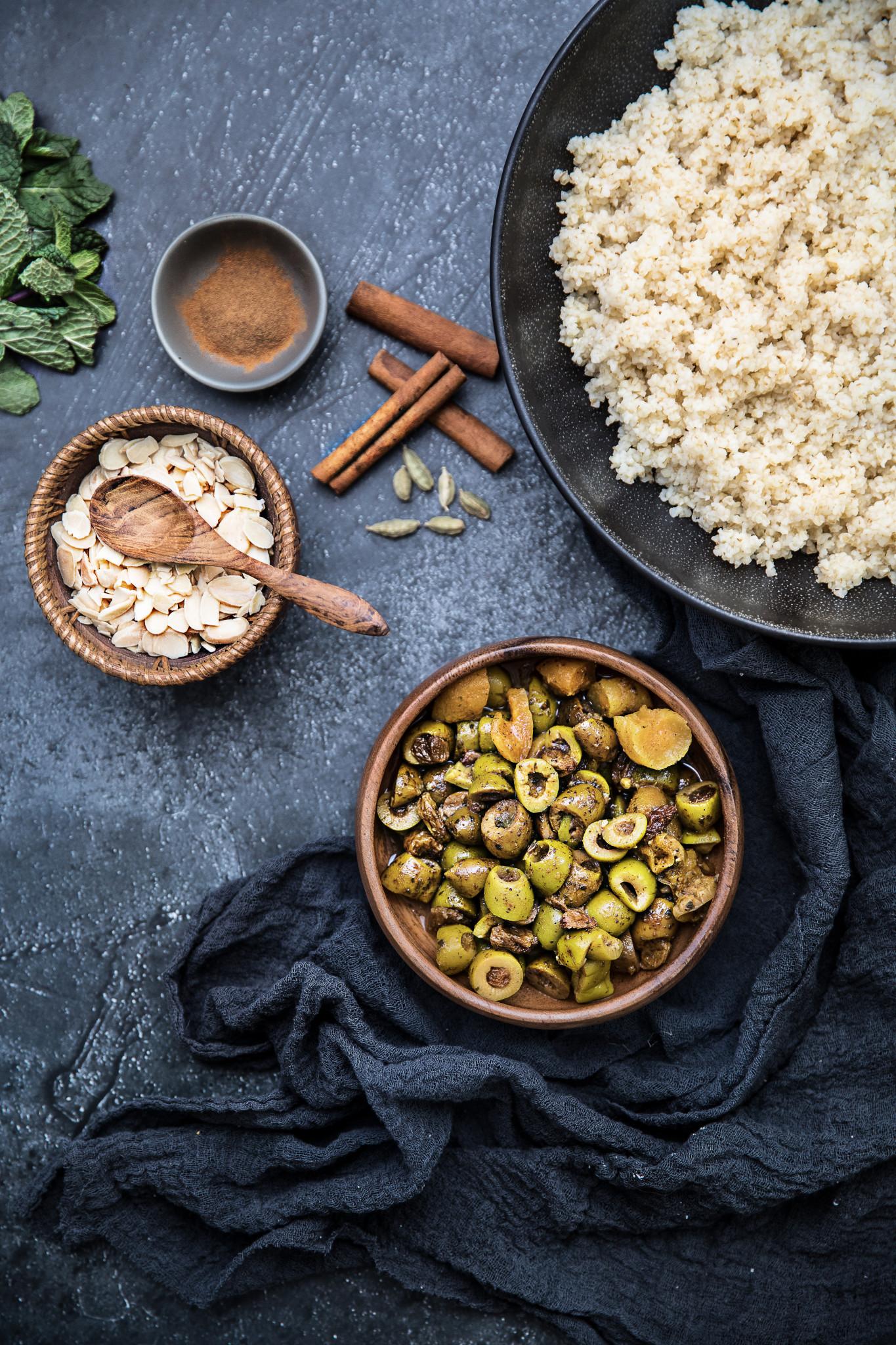 Olives à la marocaine tramier