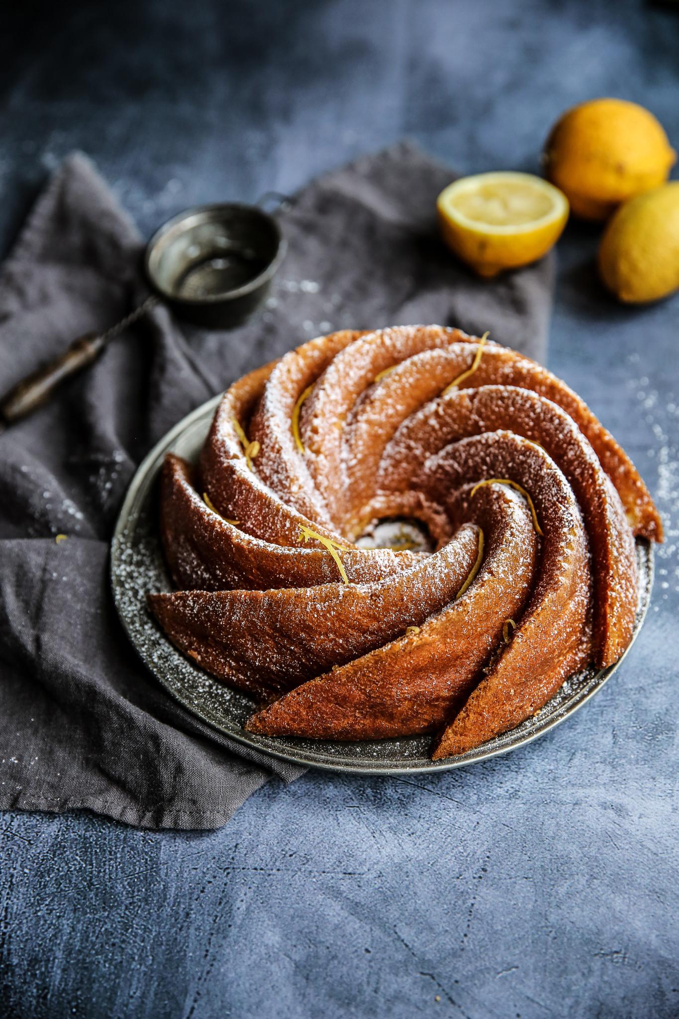 bundt cake au citron bis