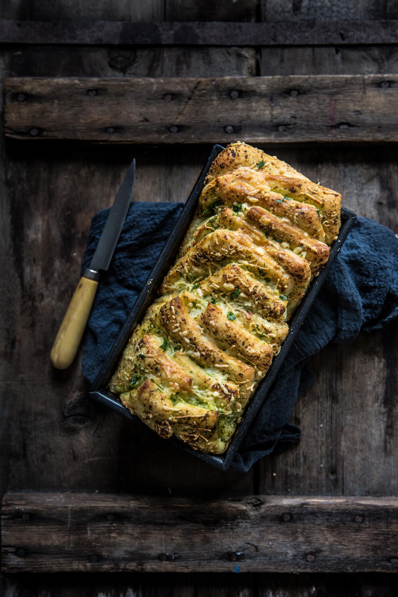 Pull appart garlic bread (1 sur 1)