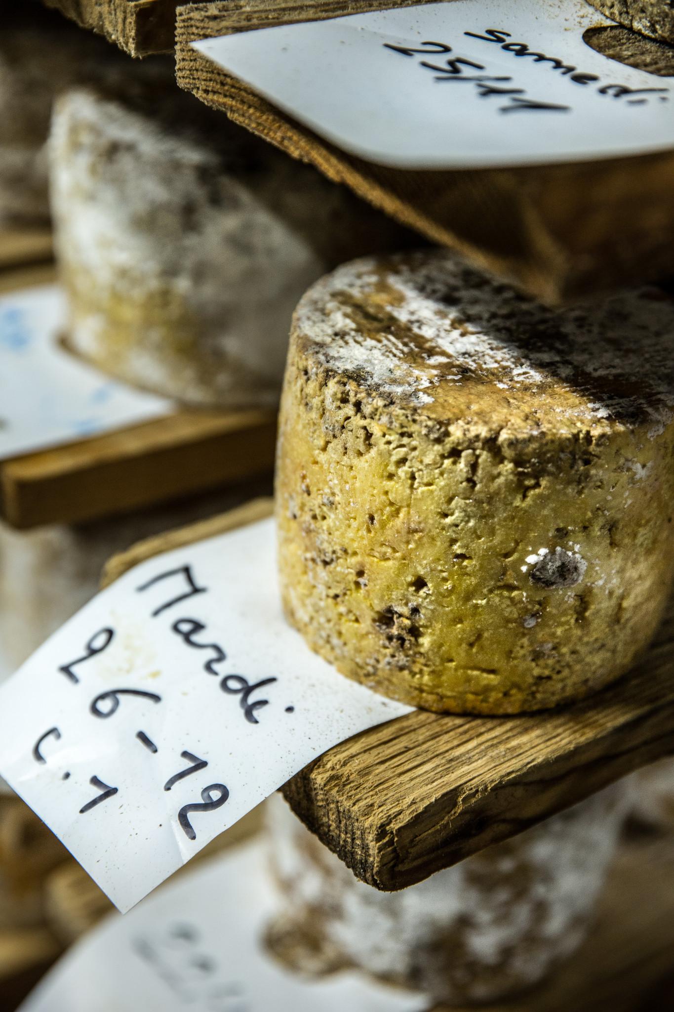 affinage tomme de fromagerie hautes chaumes